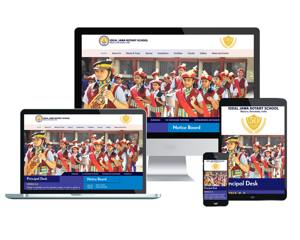 Ideal Jawa Rotary - Website Designed and Developed by Global Buzz