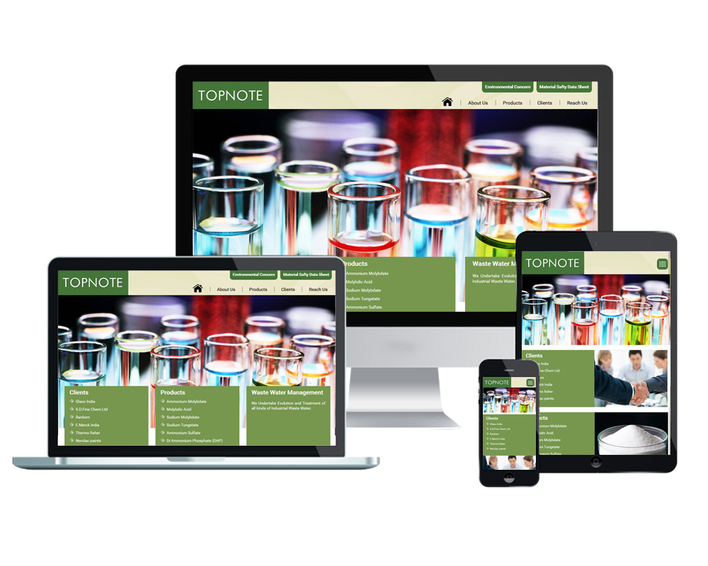 Top Note Aromatics  - Website Designed and Developed by Global Buzz