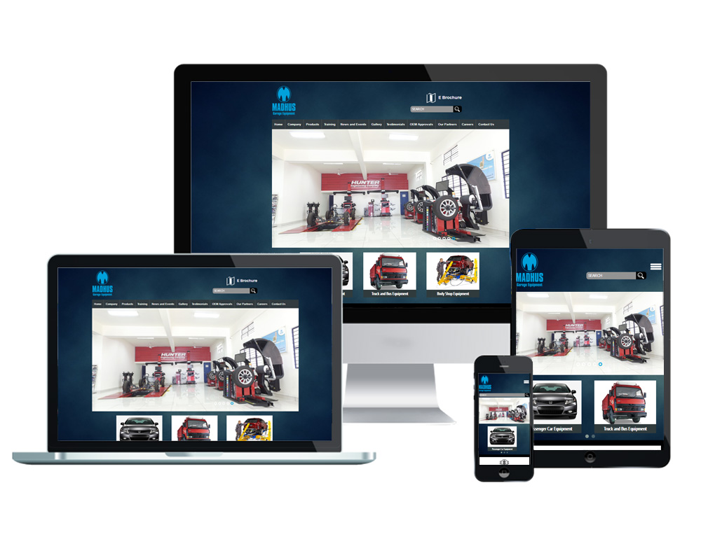 Madhus Garage Equipments - Website Designed and Developed by Global Buzz